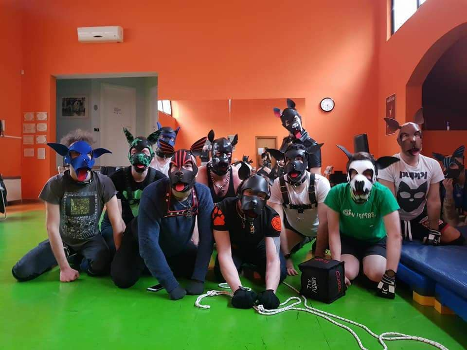 BONE LAB – Il primo workshop italiano sul Puppy Play.