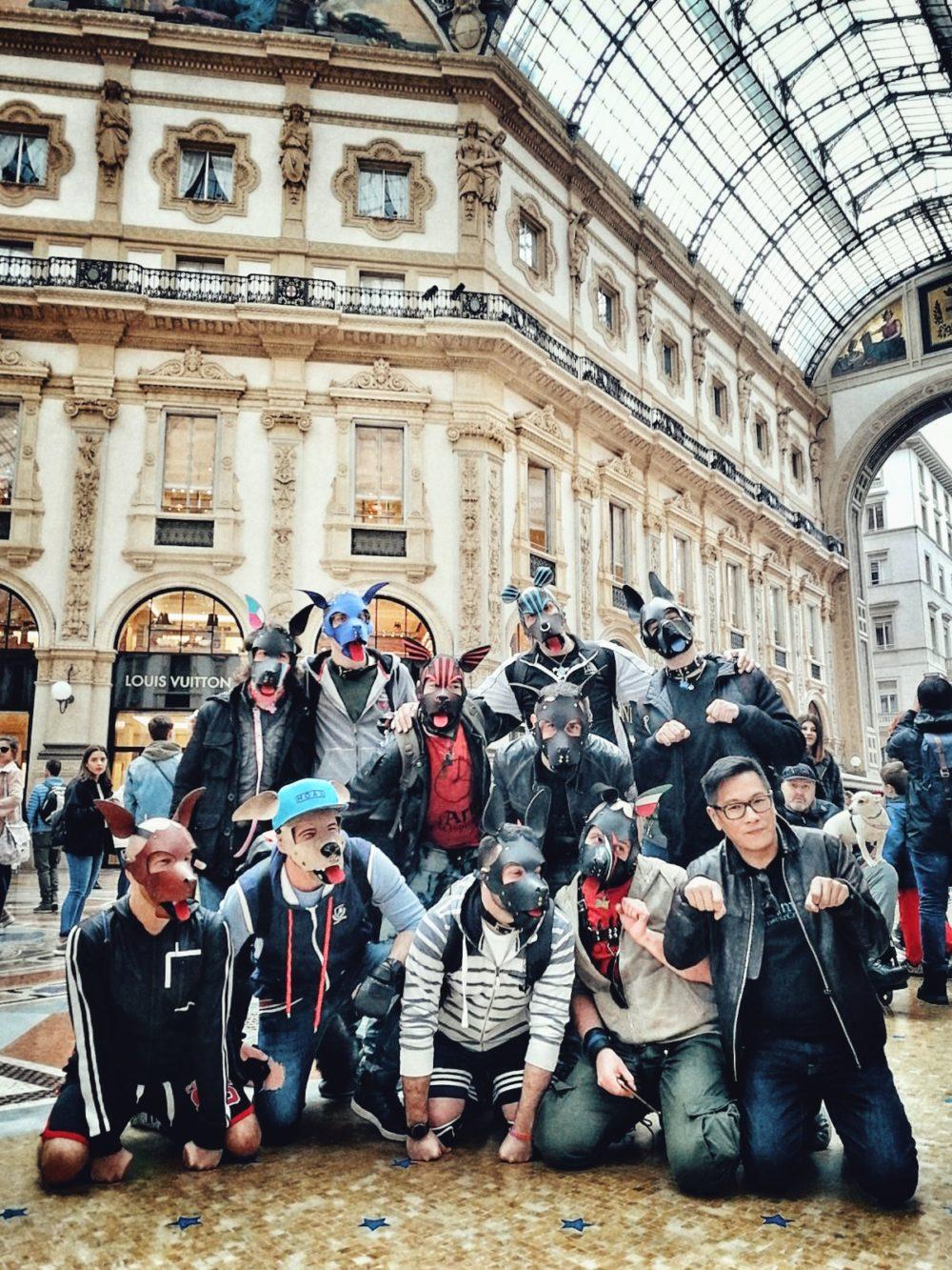 1°Puppy Walk @Milano (Italy)
